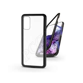 Samsung Galaxy S20 fekete mágneses 2 részes hátlap előlapi üveg nélkül