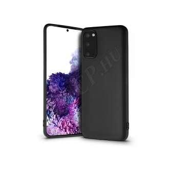 Samsung Galaxy S20 fekete szilikon hátlap