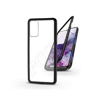 Samsung Galaxy S20 Plus fekete mágneses 2 részes hátlap előlapi üveg nélkül