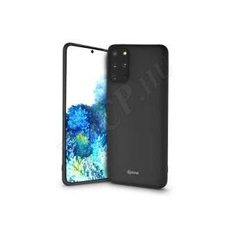 Samsung Galaxy S20 Plus fekete szilikon hátlap