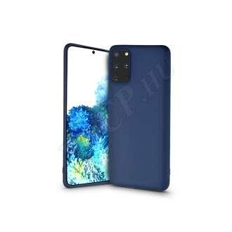 Samsung Galaxy S20 Plus kék szilikon hátlap