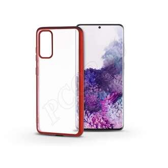 Samsung Galaxy S20 Plus piros szilikon hátlap