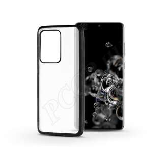 Samsung Galaxy S20 Ultra fekete szilikon hátlap