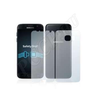 Samsung Galaxy S7 Edge (elő- és hátlap) kijelzővédő fólia