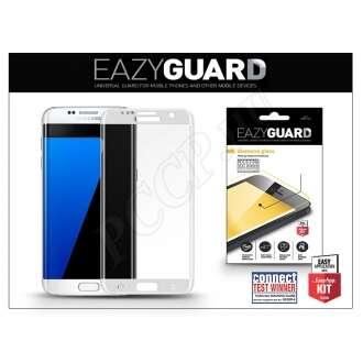 Samsung Galaxy S7 Edge gyémántüveg kijelzővédő fólia ezüst színben