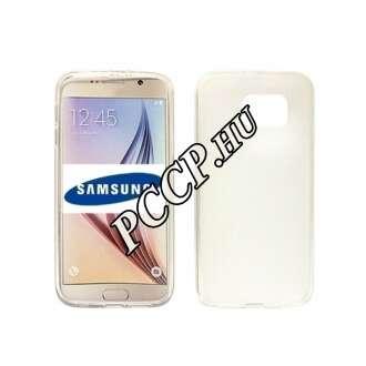 Samsung Galaxy S7 Edge fekete vékony szilikon hátlap