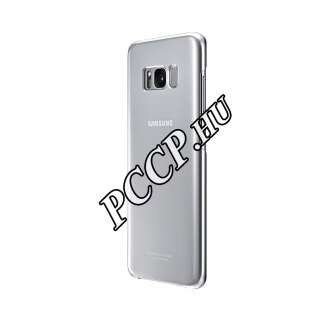 Samsung Galaxy S8 Plus ezüst clear cover tok