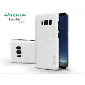 Samsung Galaxy S8 Plus fehér hátlap képernyővédő fóliával