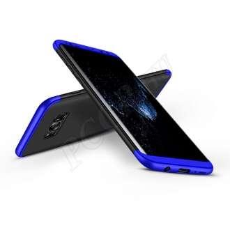 Samsung Galaxy S8 Plus fekete/kék három részből álló védőtok