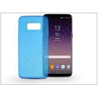 Samsung Galaxy S8 Plus kék szilikon hátlap
