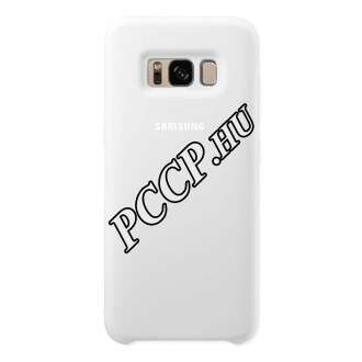 Samsung Galaxy S8+ fehér szilikon védőtok