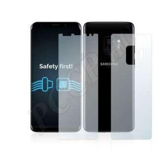 Samsung Galaxy S9 (elő- és hátlap) kijelzővédő fólia