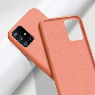 Samsung Galaxy S9 narancs szilikon hátlap