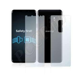 Samsung Galaxy S9 Plus (elő- és hátlap) kijelzővédő fólia