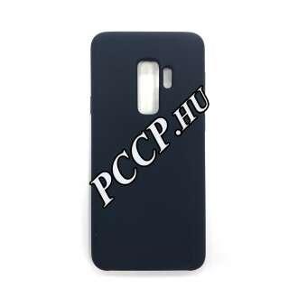 Samsung Galaxy S9 Plus sötétkék szilikon hátlap