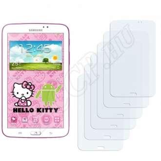 Samsung Galaxy Tab 3 (7.0) Hello Kitty Edition kijelzővédő fólia