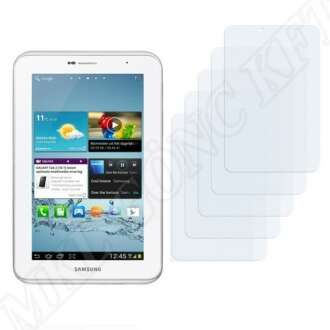 Samsung Galaxy Tab2 7col kijelzővédő fólia