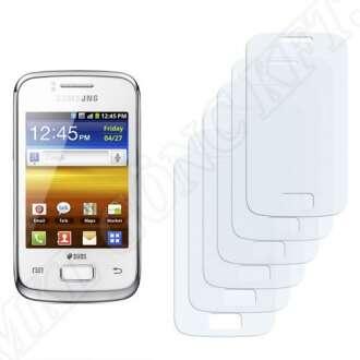 Samsung Galaxy Y Duos (S6102) kijelzővédő fólia