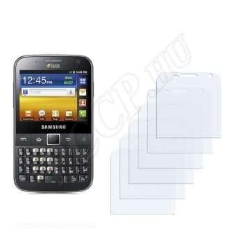 Samsung Galaxy Y Pro Duos kijelzővédő fólia