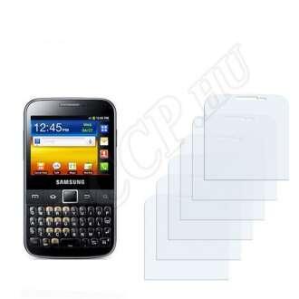 Samsung Galaxy Y Pro kijelzővédő fólia