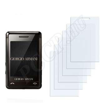 Samsung Giorgio Armani P520 kijelzővédő fólia