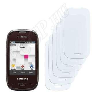 Samsung Gravity Q T289 kijelzővédő fólia