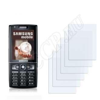 Samsung i550 kijelzővédő fólia