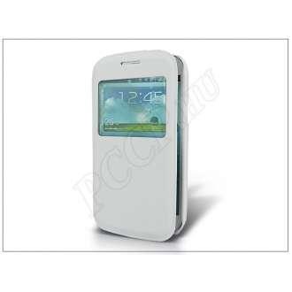 Samsung Galaxy Core fehér flip tok
