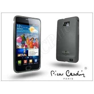 Samsung Galaxy S II fekete szilikon hátlap