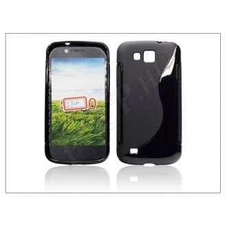 Samsung Galaxy Premier fekete szilikon hátlap