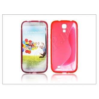 Samsung Galaxy S4 piros szilikon hátlap
