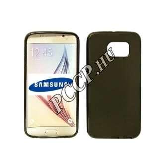 Samsung Galaxy J1 (2016) fekete vékony szilikon hátlap