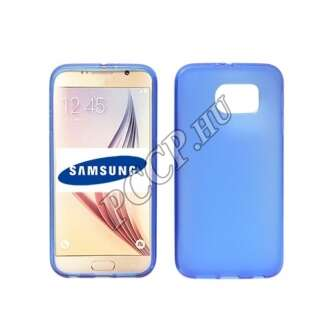 Samsung Galaxy J1 (2016) kék vékony szilikon hátlap