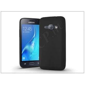 Samsung Galaxy J1 (2016) fekete szilikon hátlap