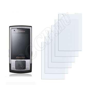 Samsung L810V Steel kijelzővédő fólia