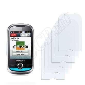 Samsung M5650 Lindy kijelzővédő fólia