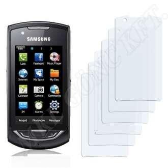 Samsung Monte (GT-S5620) kijelzővédő fólia