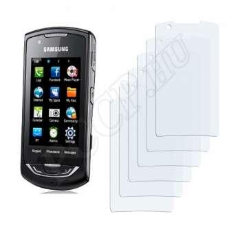 Samsung Monte S5620 kijelzővédő fólia