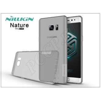 Samsung Galaxy Note 7 szürke szilikon hátlap