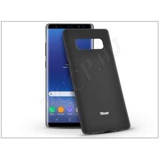 Samsung Galaxy Note 8 fekete szilikon hátlap