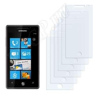 Samsung Omnia 7 kijelzővédő fólia