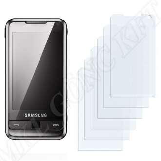 Samsung Omnia I900 kijelzővédő fólia