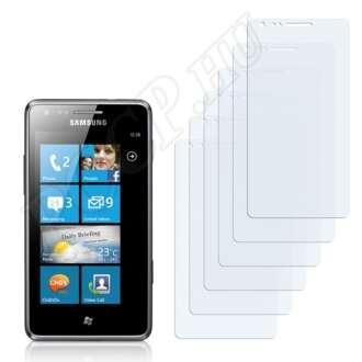 Samsung Omnia M S7530 kijelzővédő fólia
