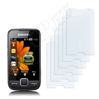 Samsung Player Star S5600 kijelzővédő fólia
