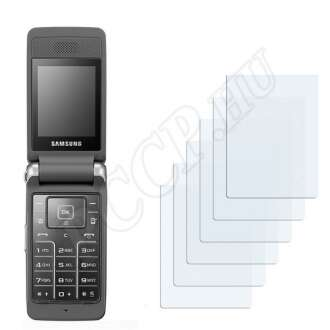 Samsung S3600 kijelzővédő fólia