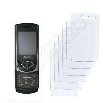 Samsung S5530 kijelzővédő fólia