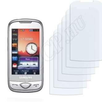 Samsung S5560 kijelzővédő fólia