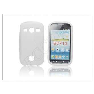 Samsung Galaxy Xcover 2 fehér szilikon hátlap