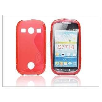 Samsung Galaxy Xcover 2 piros szilikon hátlap