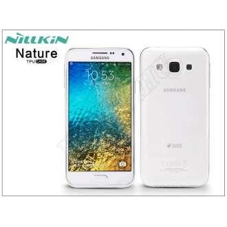 Samsung Galaxy E5 átltátszó szilikon hátlap